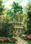 The Blue Mansion by Wolfie-chama