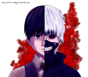 Kaneki   Tokyo Ghoul by They-Call-Me-Oddy