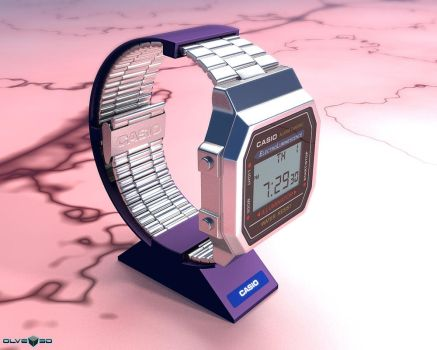 CASIO watches by olve3d