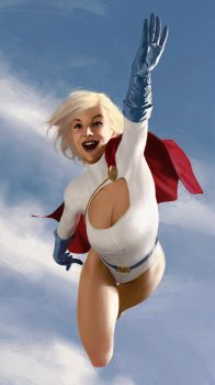 Power Girl! by martianzombie