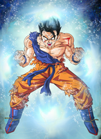 Mystic Gohan Battle Damaged #2 by EliteSaiyanWarrior