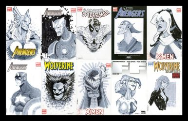 SKETCH COVERS round 1 by TimTownsend