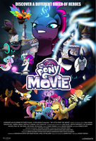 My Little Pony the Movie Fan poster 3 by EJLightning007arts