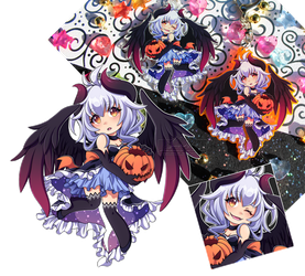 Halloween Celeste Charms by Chibi-Nuffie
