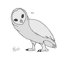 Owl Lineart for Arex by Nassy-the-Great