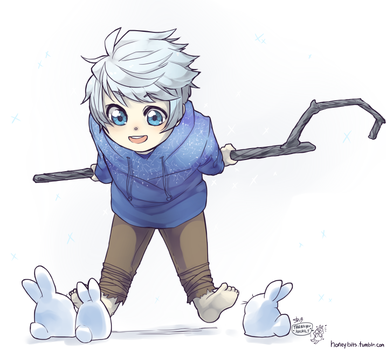 Jack Frost [Commission] by BunnyTheAssassin
