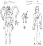 Adult Tech-Adepta Ellia Yhamara - First Draft by bugatik