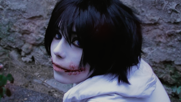 Jeff the killer Cosplay 2 /// CREEPYPASTA by betweenmyface