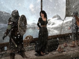 Kidnapped by Vikings by carmag34
