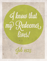 My Redeemer Lives! by Blugi