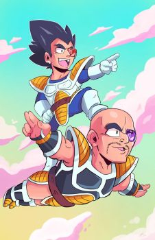 Onward Nappa! by MattCarberry