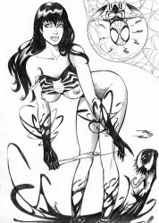 mary jane Venom abduction by raygalery