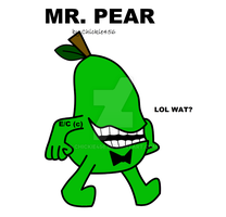 Mr. Pear by Chickie456