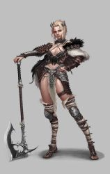 Barbarian Girl by dimelife