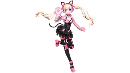 MMD - PDX Lucky Chloe - Special 925 Watchers DL by Nala-Chan-07