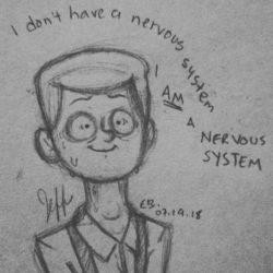 .:I AM a Nervous System:. by EnigmaBall
