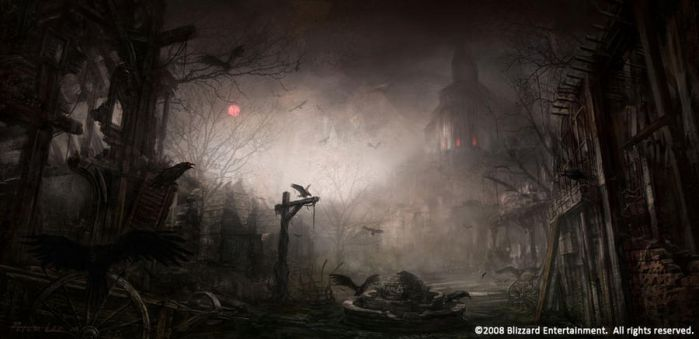 scary town by peterconcept