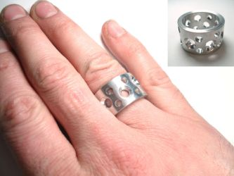 ring a day 87...holes by noformdesign