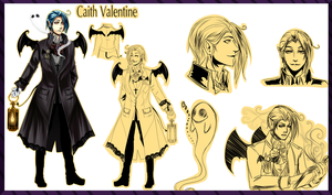 Town of Hallows: Caith Profile (Update) by Solstice-11