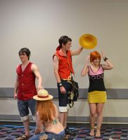 Youma 2014 - Luffy and Nami by thatsthatonegirl