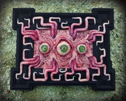 Right tentacles polymer clay sculpture 5/4/16 by dogzillalives