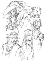 Crow Sketches by ArisuTwin