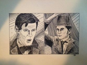 11 Meets 10 - Doctor Who 50th Anniversary by jmiron