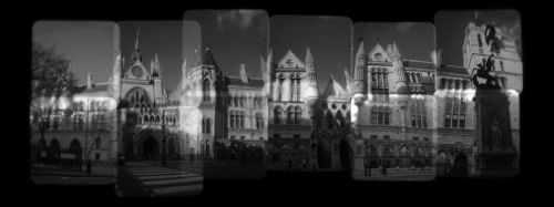 Royal Courts Of Justice London by Veniamin