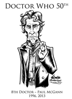 Doctor Who 8th Doctor Paul McGann by SouthParkTaoist