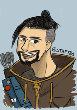 Hanzo Hipster by staptra
