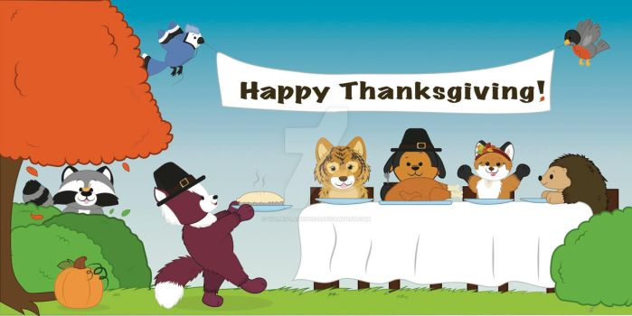 Thanksgiving Login Page (Webkinz Contest Entry) by Vulpes-lagopus21