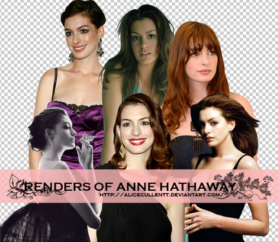 Anne Hathaway png by AliCeCuLLenTT