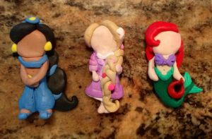 Disney Princess phone charms by Little-Birds-Art