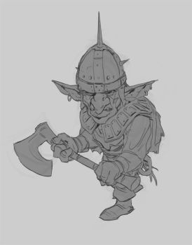Goblin scout by Prospass