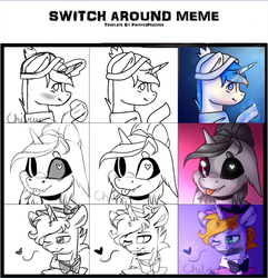 Triple Collab Meme Thing by chibuuuOwO
