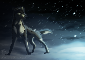 Tesshin facing the storm by LillHanna