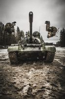 Parkour with T-55 by hmcindie