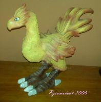 Chocobo Sculpture by Pyramidcat