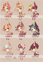 [C] SET PRICE: Emergency Adopts by Princeux
