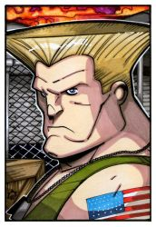 Street Fighter - Guile by NicolasRGiacondino