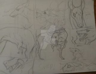 Into MournBerry Woods: Wip pg3 by ChemicallyAbsolute