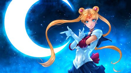 Sailor Moon by Fred-H