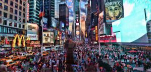 Times Square HDR Panorama 2 by vvmasterdrfan