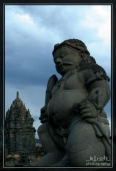 Dwarapala Statue by iwoth