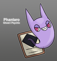 PkMn Purple: Phantaro by Midnitez-REMIX