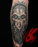 Black Dahlia Murder Band Cthulhu Tattoo by Jackie by jackierabbit12