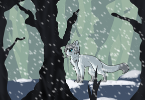 Alone in the Frozen Wasteland :AT: by Spiritpie