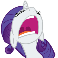 Rarity Yell by OhItIsOn