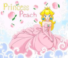Princess Peach by PumpkinChans