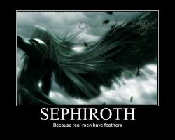 Sephiroth Motivational Poster by Moonblaster13